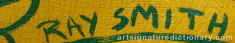 Signature by Ray SMITH
