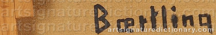 Signature by Olle BÆRTLING