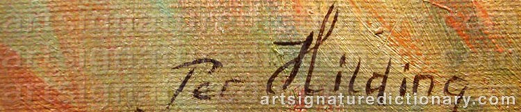 Signature by Per-Hilding PERJONS