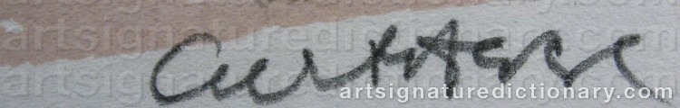 Signature by Curt AGGE