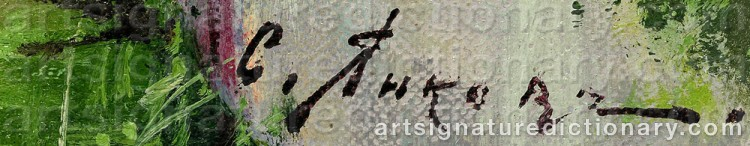 Signature by Mikhail Dimitrievich YANKOV
