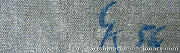 Signature by Greta KNUTSON-TZARA