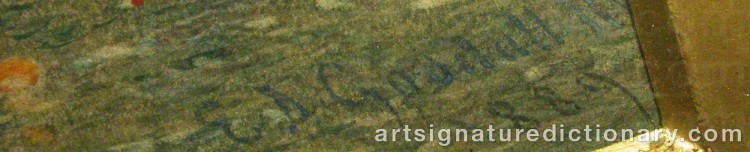 Signature by Edward Angello GOODALL