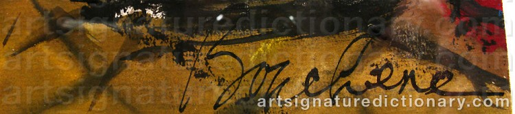 Signature by Dimitri Dimitrievich BOUCHENE