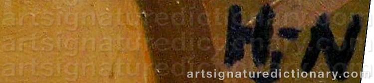 Signature by Søren HJORTH-NIELSEN