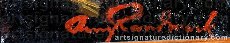 Signature by Arne RANDMARK