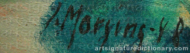 Signature by Ivar MORSING