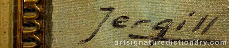 Signature by Toralf 'Torleif' JERGILL