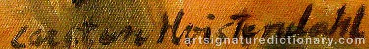 Signature by Carsten HVISTENDAHL
