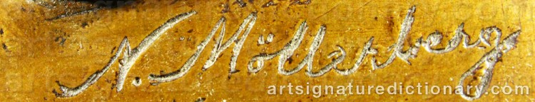 Signature by Nils MÖLLERBERG