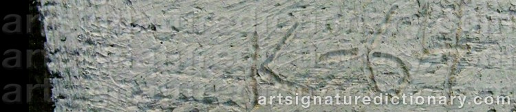 Signature by Dimitri Mikhailovich KRASNOPEVTSEV