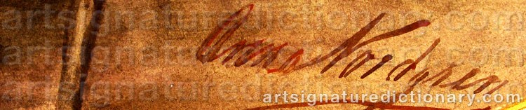 Signature by Anna NORDGREN