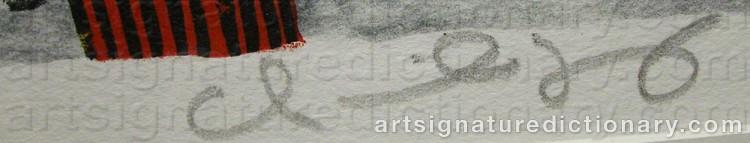 Signature by Marika LANG