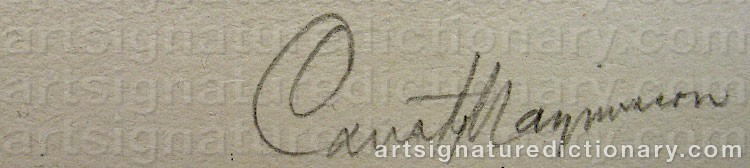 Signature by Gustaf MAGNUSSON