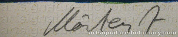 Signature by Mårten ANDERSSON