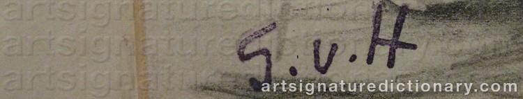 Signature by Gösta Von HENNIGS