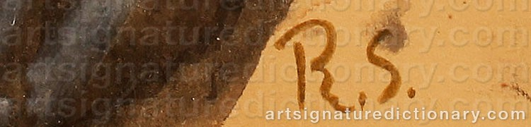 Forged signature of Ragnar SANDBERG
