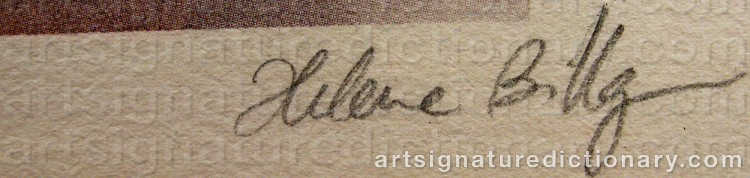Signature by Helene BILLGREN