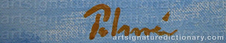 Signature by Anders PALMÉR
