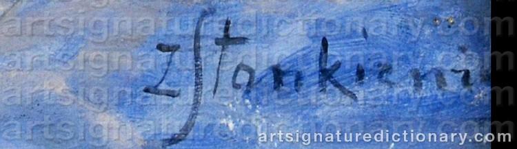 Signature by Zofia STANKIEWICZ