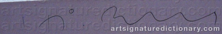 Signature by Håkan BERG
