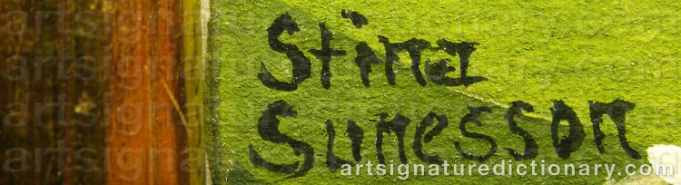 Signature by Stina SUNESSON