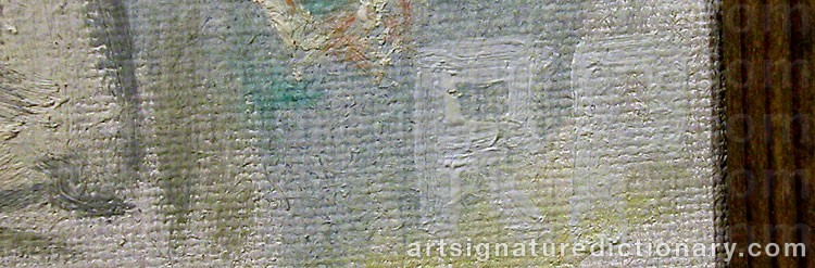 Forged signature of Ragnar PERSON
