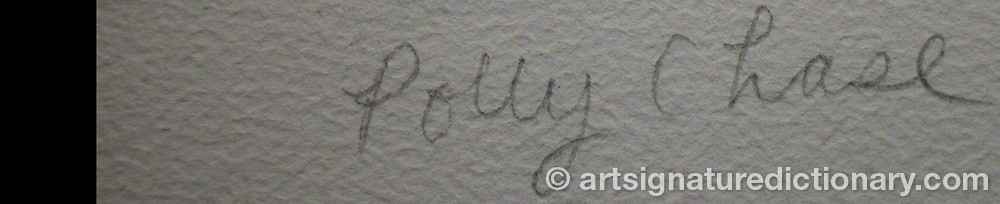 Signature by Polly CHASE