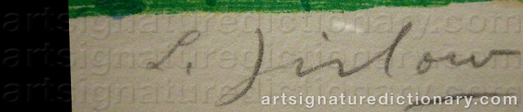 Signature by Lennart JIRLOW