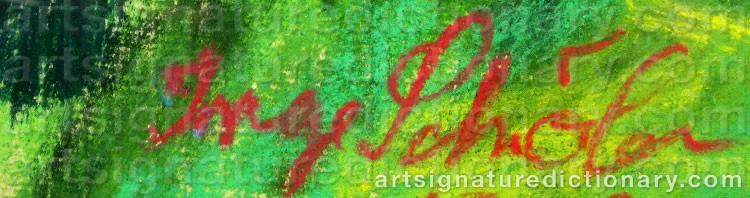 Signature by Inge SCHIÖLER