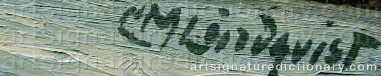 Signature by Carl Magnus LINDQVIST