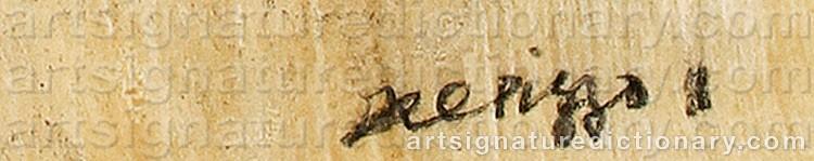 Signature by Lucio Del PEZZO
