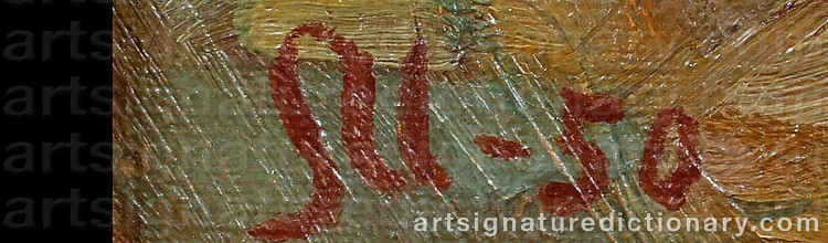 Signature by Sigfrid ULLMAN