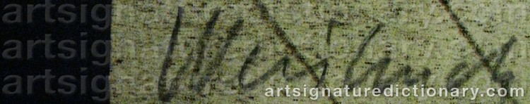 Signature by Claude WEISBUCH