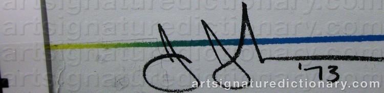 Signature by Jasper JOHNS