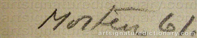 Signature by Richard MORTENSEN