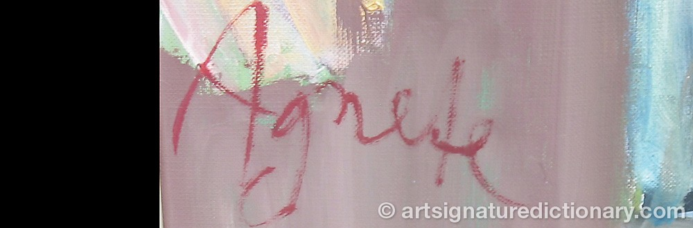 Signature by Agnete BJERRE
