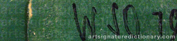 Signature by Wiliam SKOTTE OLSEN