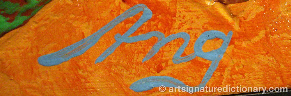 Signature by Arne NORBERG