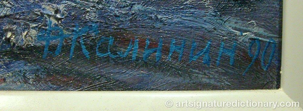 Signature by Dmitry KALININ