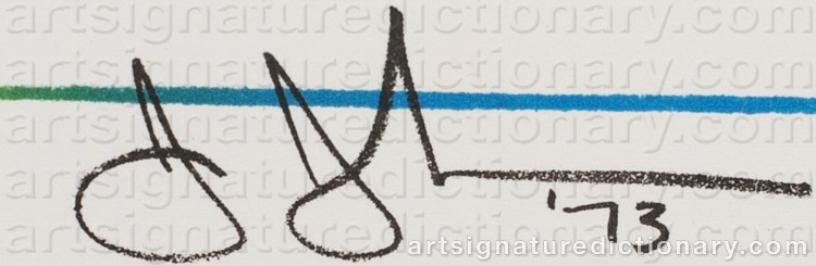 Signature by Jasper JOHNS