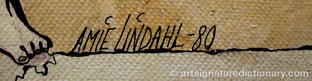 Signature by Amie LINDAHL