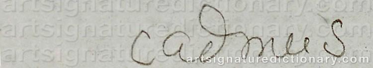 Signature by Paul CADMUS