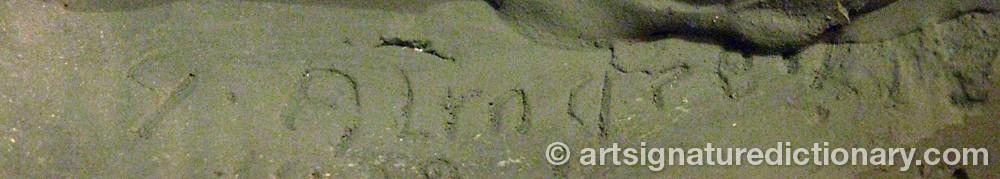 Signature by Gösta ALMGREN