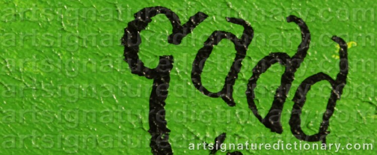 Signature by Jacob GADD