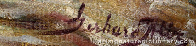 Signature by Gerhard ALBE