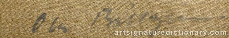 Signature by Ola BILLGREN