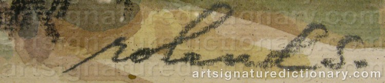 Signature by Roland SVENSSON