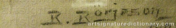 Signature by Börje BÖRJESON