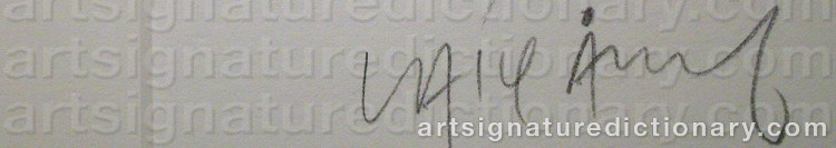 Signature by Lasse ÅBERG